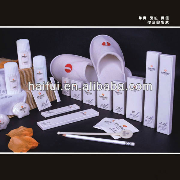 Disposable hotel amenities Professional hotel supplies supplier specializing on hotel material