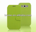 PU leather mobile phone case for Samsung i8552