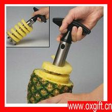 Oxgift multifunción piña acero inoxidable máquina de cortar, Y Peeler Corer