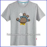 t-shirt manufacturer custom t-shirt unisex dry fit round collar custom t-shirt with cartoon print