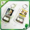 promotional acrylic bottle opener keychain