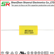 630v 0.068uf lead axial type capacitor using for Audio