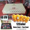 UV Gel Nail kit 12 X Colored Gels Nail Art False Natural Nails Gel Polish