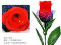 China flores artificiais presente romântico dia dos namorados subiu lâmpada