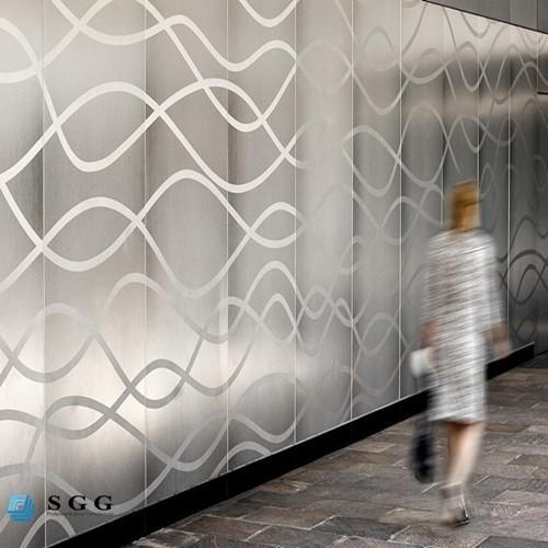 Custom Etched Glass Wall Panels Buy Custom Glass Wall
