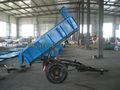 4.0 toneladas de un solo eje hidráulico del tractor remolque volcado