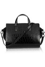 Ladies girl woman luxury crocodile leather handbags supplier in Guangzhou