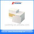 Barato pvc en blanco blanco tarjeta de venta al por mayor