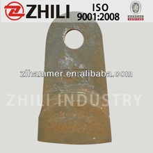 the zhili brand crusher hammer widely used in china west coal mining