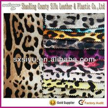 PVC handbag leather printed leopard