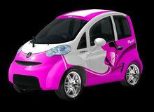 3 seat mini car eOne-S03 48V/4KW L6e EEC homologated mini electric passenger car,middle hand drive