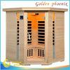 Hot Selling Luxury Spa Sauna FIR Sauna Cabin Family Sauna for 3-4 person