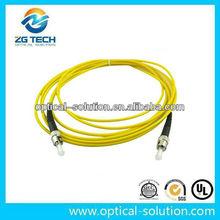 Singlemode ST/UPC fiber optical patchcord