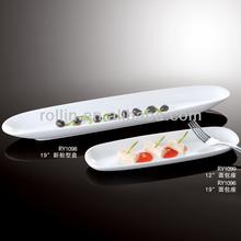Popular nice white porcelain dinner plates,restaurant plates,wedding crockery