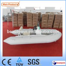(CE)3.3m fiberglass v deep center console fishing boat for sale