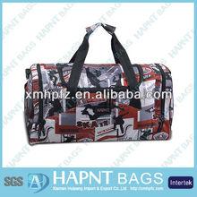 Teenage fashion army duffle bag