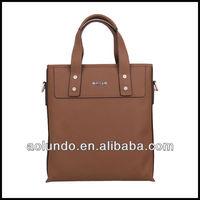 2015 customized men leather new handbags for men