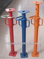 Réglable de poteau en acier shoring/shoring prop soutient