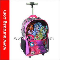 TR0244 2013 best selling kids trolley bag