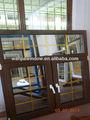 un buen diseño de hierro forjado decorativo de la ventana de la parrilla en guangzhou