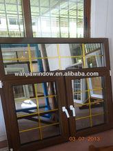 Good design decorative wrought iron window grill in guangzhou