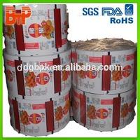 Food grade FDA standard packing plastic film roll