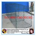 Recubierto de pvc de plástico hexagonal cestas de gaviones tamaños( más bajo precio)
