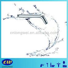 LWA-09006 round flange chrome standard brass shower arm
