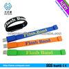 Hot!!! silicone bracelet usb flash drive