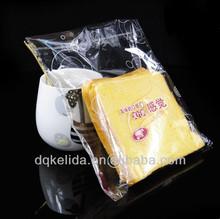Printed PP packing bag with self-adhesive