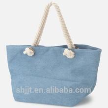 fashionable canvas handbag double shoulder bag