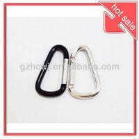 fahsion aluminium snap key hook.hooks for key ring