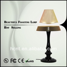 New Creation ! Magnetic Levitating Reading Lamp, cartoon rechargeable folding led reading lamp