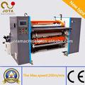 Alta velocidad de papel ATM cortadora y rebobinado de la máquina, Térmica de corte de papel y rebobinado de la máquina, Plotter rollo de papel convertidor