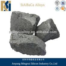 Silicon alumium barium calcium lump 3-10mm