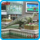 Water slide and barney the park sculpture fiberglass dinosaur
