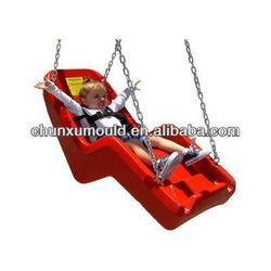 Rotomolding plastic swing seat