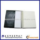 Personalized handmade leather agenda notebooks 2013