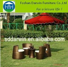 Garden rattan/wicker furniture (DW-DT020+DW-C016+DW-C017) A