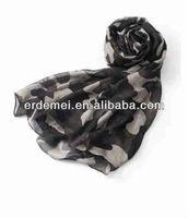 Polyester voile tudung bawal scarf manufacturer