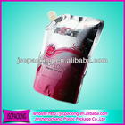 stand up custom spout packing bag/custom retail bags/fancy packing bag/cotton packing bags