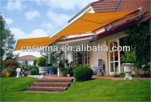 2014 Hot sale used transparent aluminum sundowner awnings