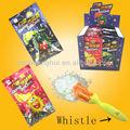 Silbato lollipop con poping caramelo