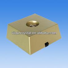 Gold Square Led Trophy Base For Wholesale