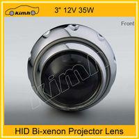 2013 wholesale bi-xenon hid projector lens light angel eyes hid xenon kit