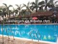 50x25 metros de la piscina de natación