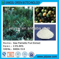Saw palmetto Extract/Fatty Acid
