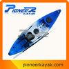 Rotomolded polyethylene kayak