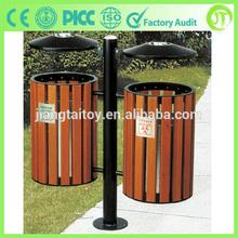 Hot Selling Garbage Can JT-16407B Wood Garbage Bin
