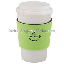 printed neoprene coffee cup sleeve